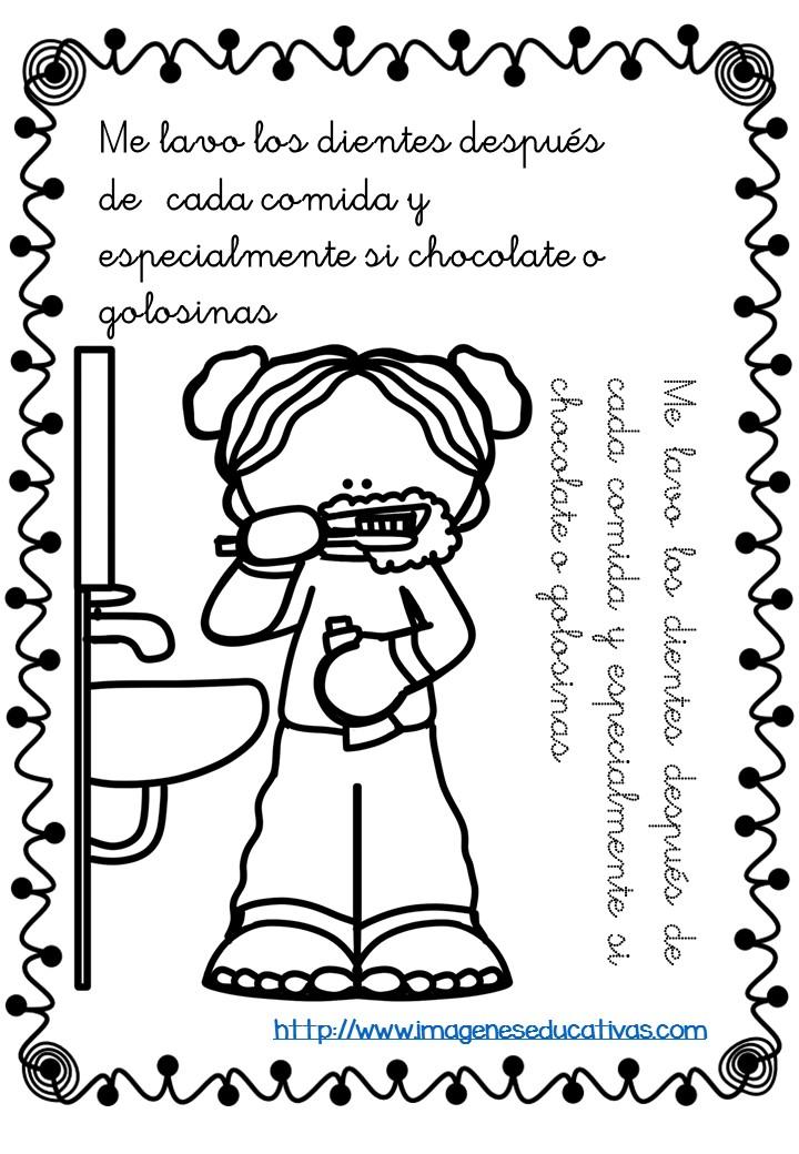 Mi librito para colorear rutinas -Orientacion Andujar