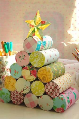 arbol-navidad-rollo-papel