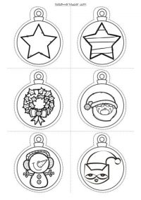 #decora tu clase Divertidas Bolas de navidad para imprimir ...