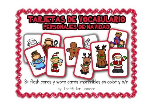 tarjetas-de-vocabulario-de-personajes-de-navidad1