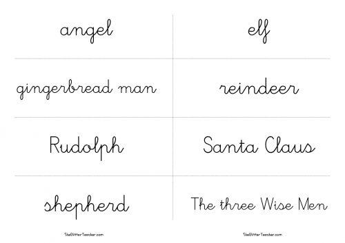 tarjetas-de-vocabulario-de-personajes-de-navidad7