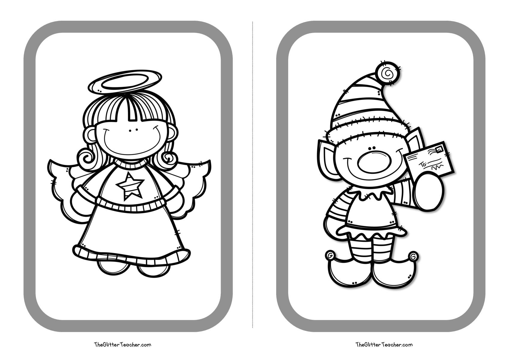 Encantador Páginas Divertidas Imprimibles Ornamento - Ideas Para ...
