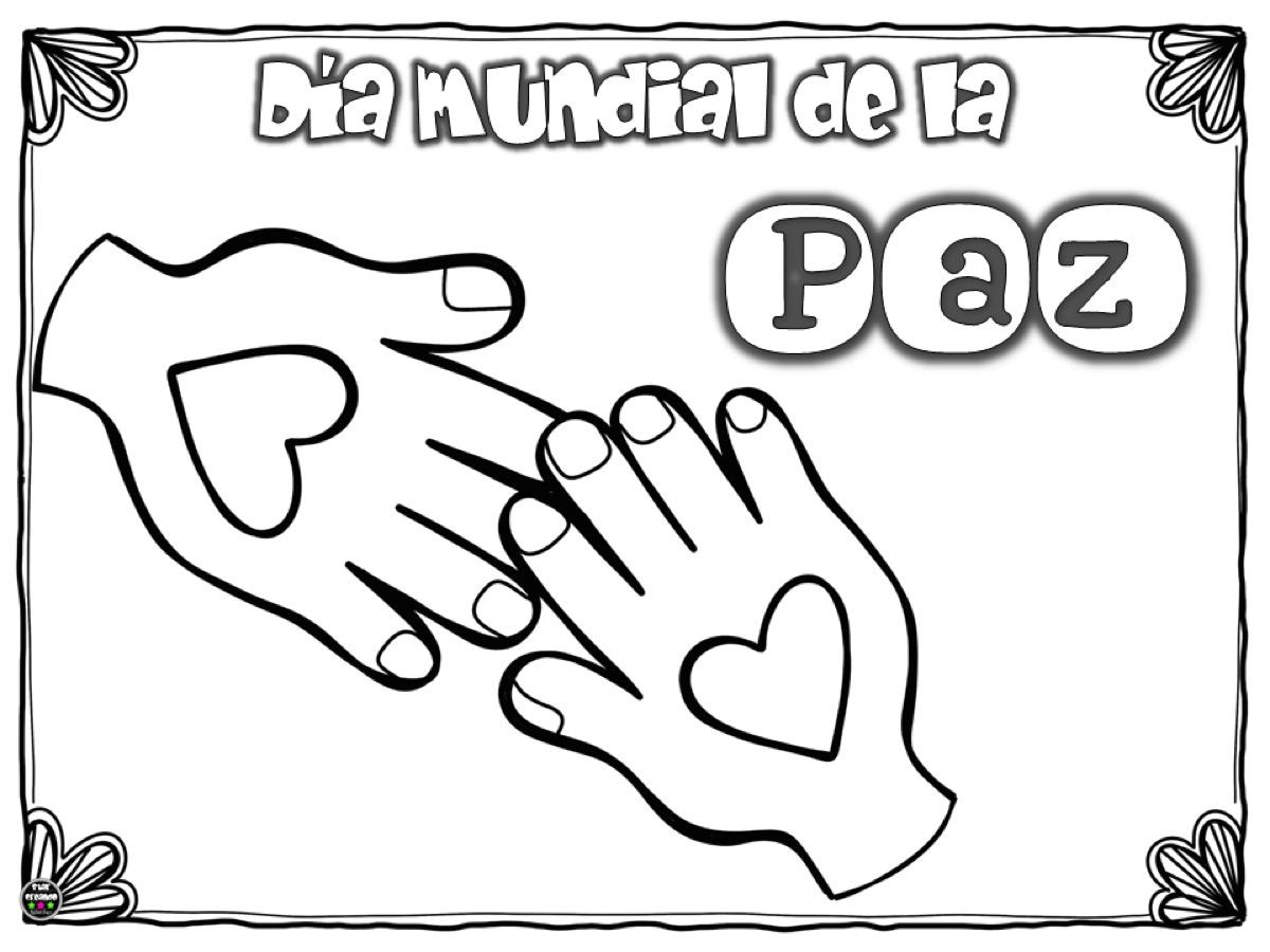 Imágenes Para Colorear Dibujos Del Día De La Paz: Orientación Andújar