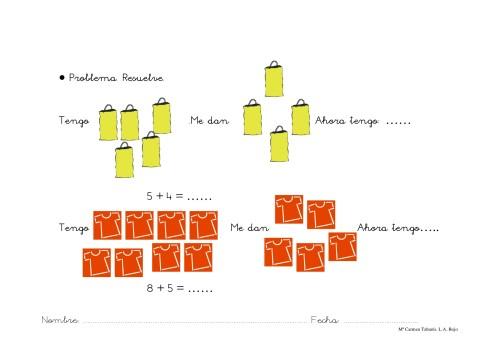 100 fichas de actividades de matemáticas en INFANTIL -Orientacion ...