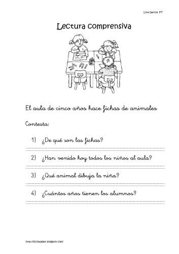 Colección de 25 fichas de lectura comprensiva ideales para primaria ...