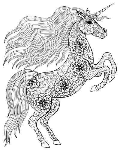 Image Result For Unicorn Grayscale Coloring