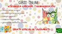 Hasta el próximo 7 de Julio tenemos una oferta especial en nuestro curso deInteligencia Emocional y Neuroeducación, por solo 50€ podrás participar en nuestra formación ON-LINE. Tras el éxito de […]