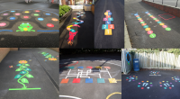 fuente:http://first4playgrounds.co.uk/ fuente:http://signetsigns.co.uk/product/school-signs/playground-markings/exercise-tracks/