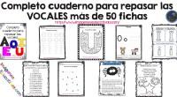Cuaderno para repasar las VOCALES más de 50 fichas Material de trabajo de lecto-escritura, para trabajar las vocales con niños de 5 años y niños de primer grado. En este […]