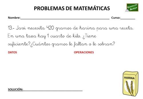 Coleccion De Problemas De Matematicas 3 º Primaria Orientacion Andujar