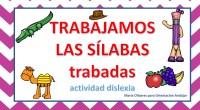 Os dejamos una colección de actividades realizadas por Cristina Miras para trabajar las diferentes sílabas trabadas.