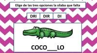 Os hemos preparado estas divertidas actividades para trabajar las sílabas trabadas. En ellas nuestros alumnos deben de seleccionar la sílaba correcta para rellenar el hueco   DESCARGA LA FICHA […]