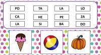 Otras de nuestras divertidas actividades en las que nuestros alumnos deben de unir diferentes sílabas para formar palabras, ayudándose de unos dibujos que les damos como pista. La conciencia fonológica […]