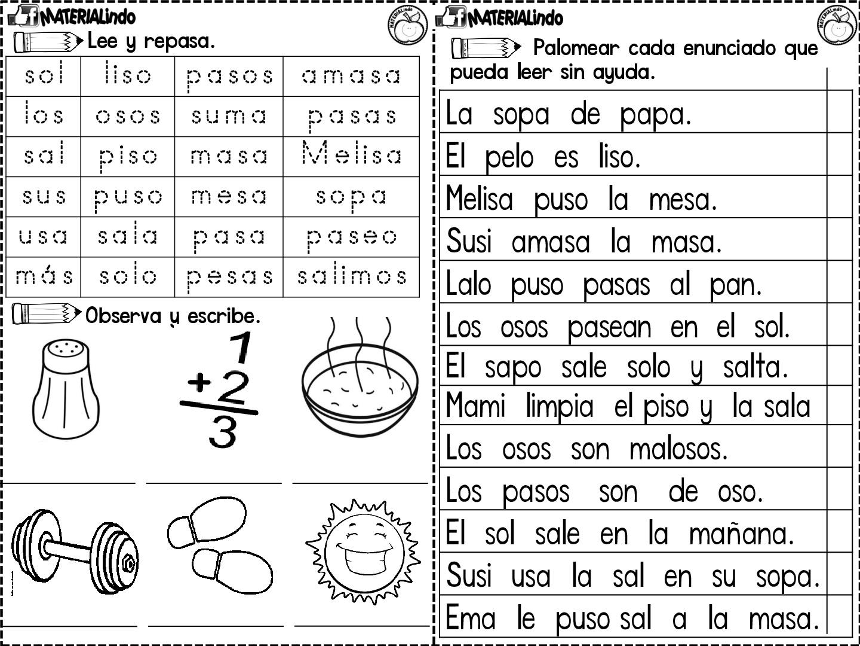 Lectoescritura Completa Leo Y Escribo Las Silabas 015