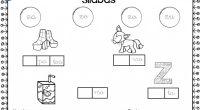 Colección de actividades para trabajar las sílabas directas de una forma divertida, donde nuestros alumnos/as deben de completarconciencia silábica Colección de fichas para trabajar las Sílabasconciencia silábica conciencia silábica Descarga […]