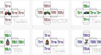 Os dejamos estos sencillos dados para trabajar las palabras que contienen sílabas trabadas, en este caso empezamos preparando los que tienen las sílabas TRA-TRE-TRI-TRO-TRU. Se denomina como palabras trabadas o […]