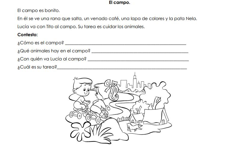 Colección de Lecturas cortas para niños con preguntas -Orientacion ...