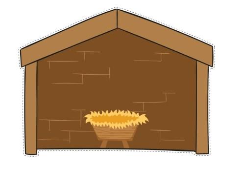 Construye Y Colorea Para Tu Clase O Casa Tu Propio Portal De Belen Para Peques Orientacion Andujar