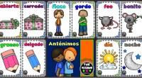 Sinónimos, son palabras diferentes que tienen el mismo significado como rojo y colorado o balón y pelota, etc. Antónimos, son palabras que tienen un significado opuesto o contrario entre sí, […]