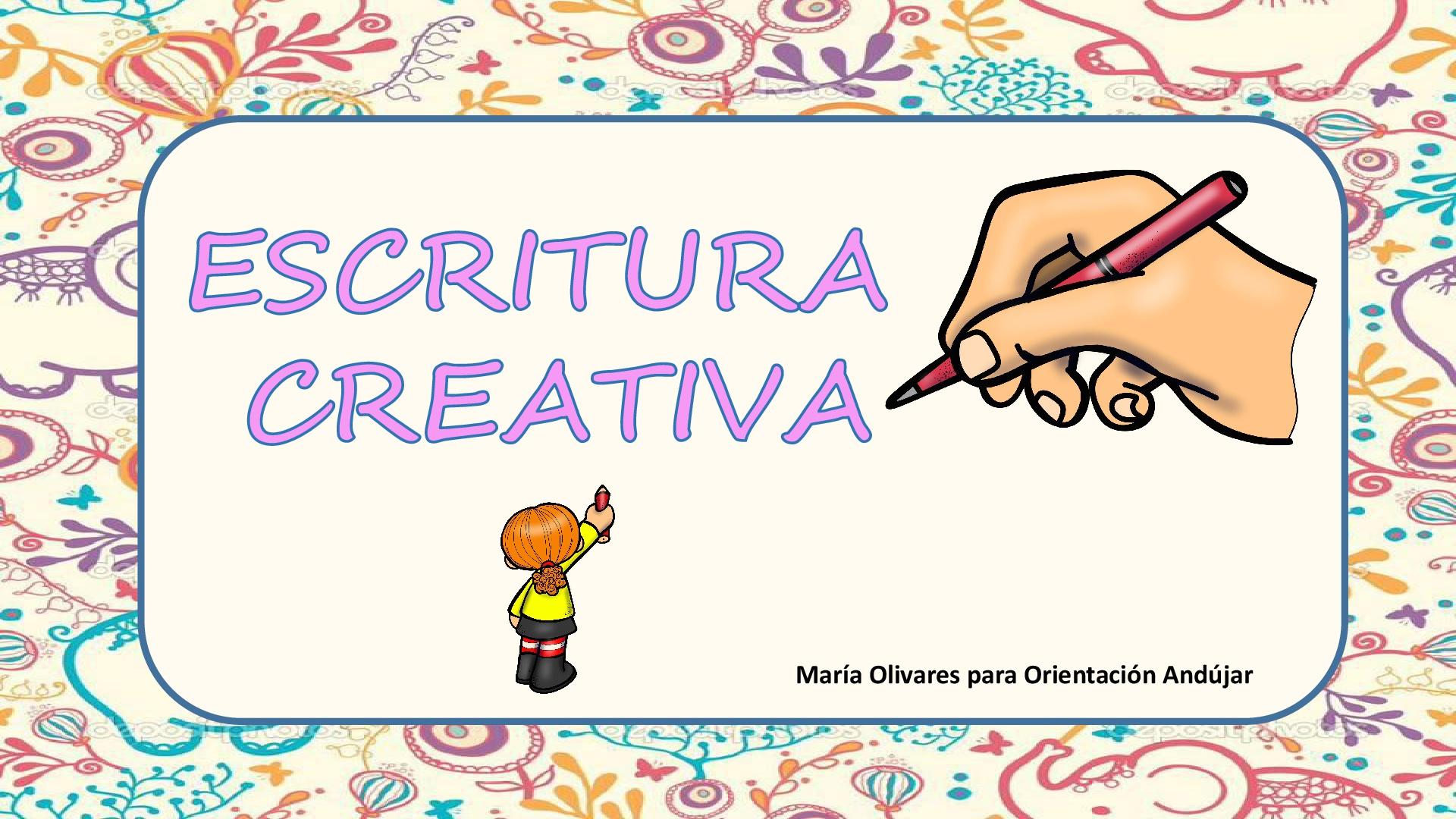 Trabajamos la escritura creativa a través de breves descripciones ...