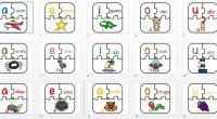 Fantásticas fichas puzzle para recortar con tres espacios para que de forma divertida aprendamos las vocales asociando imágenes, letras y palabras.   DESCARGATE LAS FICHAS EN PDF super puzzle […]