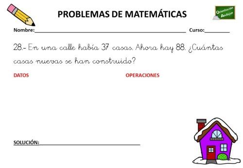 Coleccion De 50 Problemas De Matematicas Primer Ciclo Primaria Orientacion Andujar