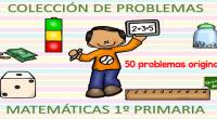 Completo cuaderno con 5 problemas de operaciones sencillas sumas y restas para infantil y primer ciclo de primaria. Hemos reforzado el problema poniéndoles unas imágenes divertidas.