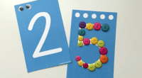 Tarjetas para trabajar el conteo.Este conjunto de tarjetas de números imprimibles incluye todos los números 1-10.Cada carta tiene puntos de conteo para representar el número en la tarjeta.