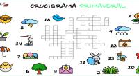 Hoy os presentamos unos materiales super chulis, un crucigrama primaveral, creados porKasia profesorade ELE de Polonia, que quiere comparir sus ideas con todos vosotros.