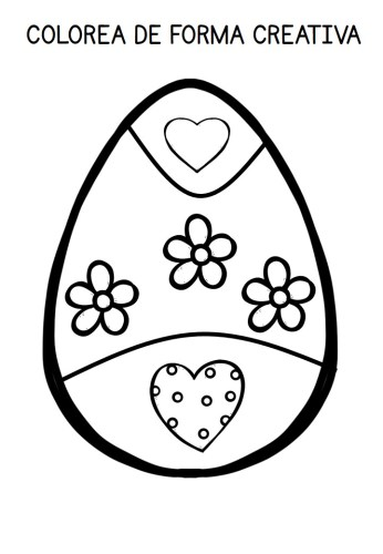 Vamos a colorear huevos de Pascua de forma creativa 20 diseños ...