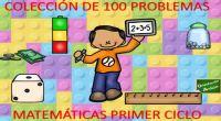 Os dejamos esta fantástica COLECCIÓN DE 100 PROBLEMAS MATEMÁTICAS PRIMER CICLO EDITABLES.
