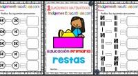 Cuadernos Orientación Andújar Infantil y Primaria Matemáticas RESTAS Fichas de refuerzo de matemáticas para trabajar en clase o en casa, sencillas para iniciar en las RETAS. la resta o sustración […]