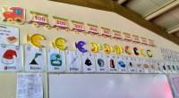 Sencillas láminas de las centenas en forma de locomotora que viene genial para decorar nuestras clases.