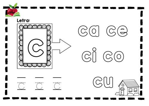 Nueva versión del silabario para colorear -Orientacion Andujar