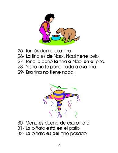 Dictado De Oraciones Y Frases 100 Para Primer Ciclo De
