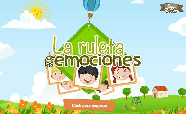 Ruleta De Las Emociones Conjunto De Juegos Interactivos De Las