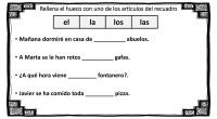 Hoy os traemos unas sencillas actividades totalmente originales en las que nuestros alumnos tienen que situar el artículo correcto en cada una de las frases que les presentamos, rellenado los […]
