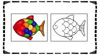 Hoy os traemos una divertida actividad de atención, se trata de una serie de fichas imprimibles para colorear siguiendo el modelo que aparece en la izquierda.