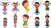 Fichas de emociones para niños para trabajar la Educación Emocional