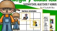 …y algo más! Una buena manera de repasar y consolidar el trabajo con sustantivos, adjetivos y verbos es usando hojas para clasificarlos. En esta serie hay packs para cada estación […]
