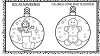 30 bolas de navidad para colorear y decorar (1 ...