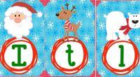 Os dejamos este abecedario memorama en carteles de mayúsculas y minúsculas con motivos navideños ideales para decorar tus aula.