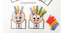 El material consiste en unas caras (2 modelos) en las que hay que poner tantos pelos como el número indique. Los pelos están representados con pinzas de la ropa. A […]