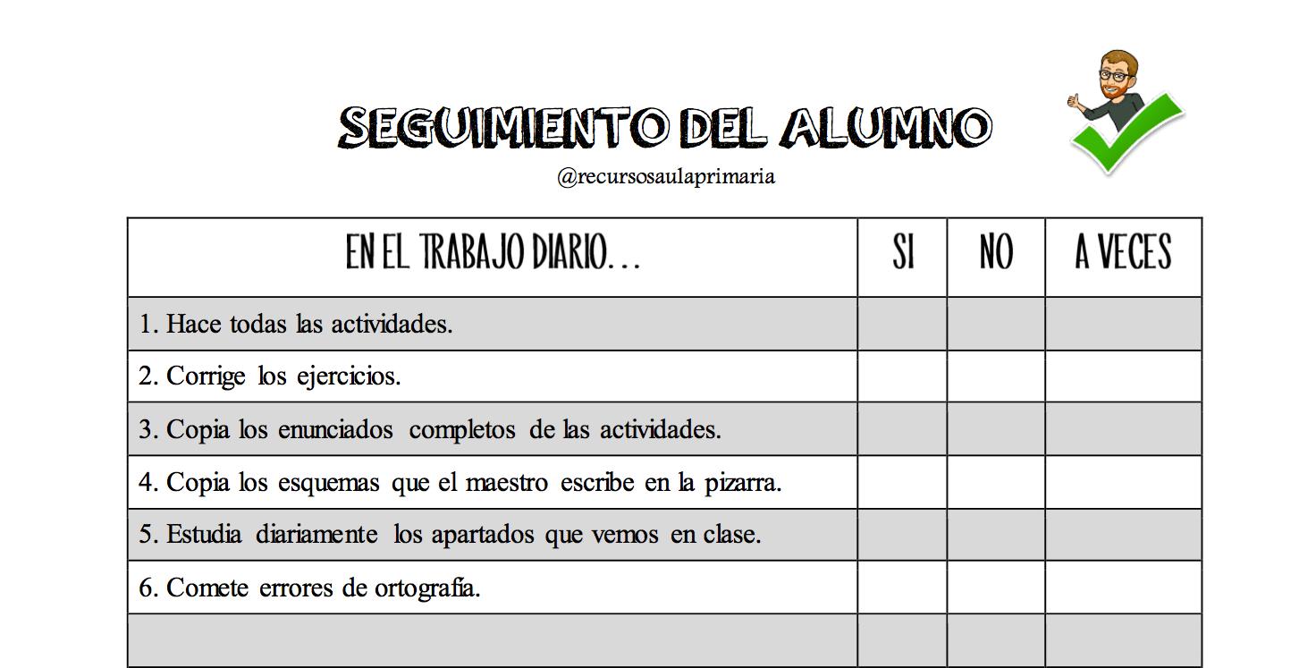 Registro del trabajo en clase -Orientacion Andujar