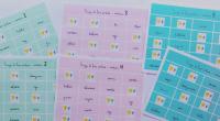 El material que os mostramos es un bingo para trabajar los verbos. Realizado por @abc_logopeda En los cartones figuran los verbos ya conjugados y el alumno debe buscarlos con sólo […]