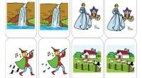Descripcion: Material para trabajar la atención y la discriminación visual mediante pares de tarjetas aparentemente iguales, pero que difieren en un elemento que debemos adivinar.