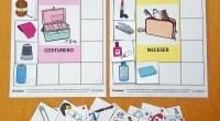 Conjunto de tableros y pictogramas para trabajar la discriminación visual, el léxico y la semántica a través de la clasificación y categorización de cada alimento, objeto o herramienta en el […]