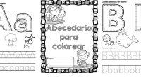 Divertido abecedario para colorar y divertirse los mas pequeños. DESCARGA EL ABECEDARIO EN PDF ABECEDARIO PARA COLORERAR