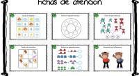 Nuevo cuaderno de atención con 20 diferentes actividades listo para imprimir y trabajar.