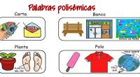 Las palabras polisémicas se refieren a palabras que tienen distintos significados. La polisemia se distingue de la homonimia en que el origen etimológico, en este último caso, suele ser distinto. […]